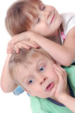 Kindfreunde Lizenzfreies Stockfoto