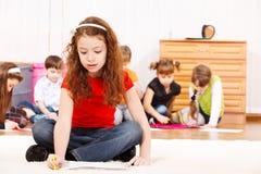 Kindgruppenzeichnung Stockbilder