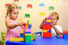 Kindheit Playtime stockfoto