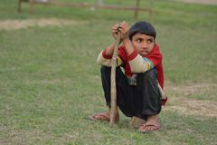 Kindheit von Armen Lizenzfreie Stockfotos