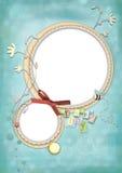 Kindkarte 04 Lizenzfreies Stockfoto