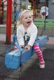Kindlächeln lizenzfreies stockbild