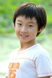Kindlächeln Stockfotografie