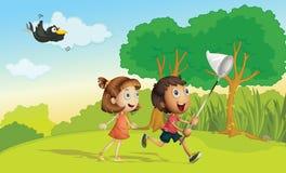 Kindlaufen Stockbilder