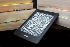 Kindle e book reader Stock Image