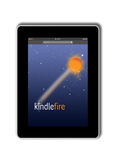 Kindle Fire from Amazon. Amazon's new version of Kindle called Kindle Fire Stock Photo
