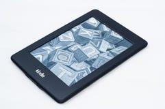 Kindle-paperwrite 2 Stockbild