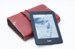 Kindle paperwrite  Stock Photography