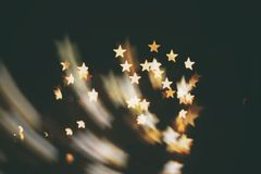 Kindle stars. Shooting star abstract blur background ( kindle stars royalty free stock photo