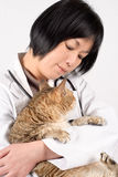 Kindly doctor of pet Stock Photography