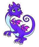 Kindly dragon Royalty Free Stock Photos