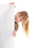Kindmädchen im Spiel Lizenzfreie Stockfotos