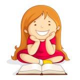Kindmesswertgeöffnetes Buch Lizenzfreie Stockfotos