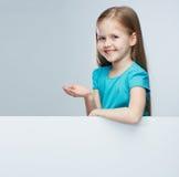 Kindportret in volwassen bedrijfsstijl. stock foto