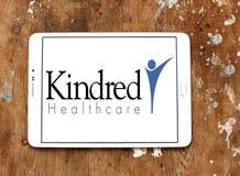 Kindred opieki zdrowotnej logo Zdjęcia Stock