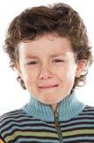 Kindschreien stockbild