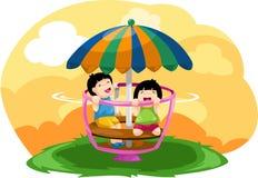 Kindspielen vektor abbildung