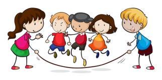 Kindspielen lizenzfreie abbildung