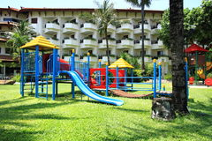 Kindspielplatz Lizenzfreies Stockfoto