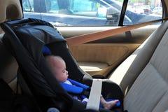 Kindverwaarlozing - Zonnesteek Stock Afbeeldingen