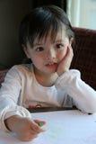 Kindzeichnung Stockfotos