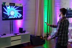 Kinect en Xbox 360 Stock Afbeeldingen