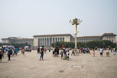 Kines Asien, Peking, den stora Hallen av folket Royaltyfri Bild