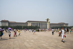 Kines Asien, Peking, den stora Hallen av folket Arkivbilder