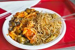 Kines bantar mat Arkivbild