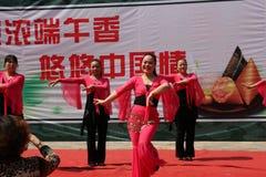 Kines Dragon Boat Festival Royaltyfri Foto