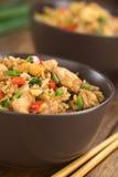 Kines Fried Rice Arkivbilder