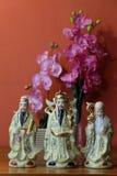 Kines Fu Lu Shou Royaltyfri Foto