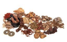 Kines Herb Ingredients arkivbild