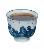 kines isolerad tea royaltyfria bilder