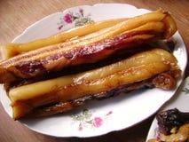 Kines rökt kött royaltyfria foton