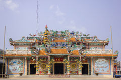 Kines relikskrin av Quan Yin Royaltyfri Foto