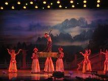 Kines Tang Dynasty Performance Royaltyfria Bilder