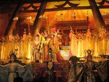 Kines Tang Dynasty Performance Royaltyfri Foto