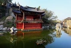 Kines trädgårds- Shanghai Yuyuan Royaltyfria Foton