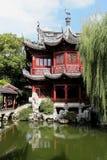 Kines trädgårds- Shanghai Yuyuan Fotografering för Bildbyråer