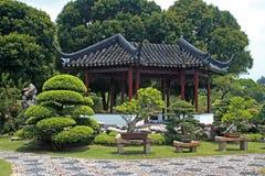 kines trädgårds- singapore royaltyfria bilder