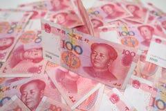 100 kines Yuan Royaltyfri Fotografi