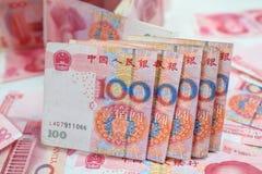 100 kines Yuan Royaltyfri Foto