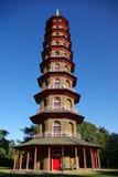 kinesen arbeta i trädgården kewpagodaen Royaltyfri Fotografi