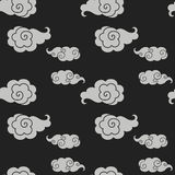 kinesen clouds stil Arkivfoto