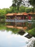 kinesen fann paviljongallsång Arkivbilder