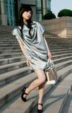 kinesen models professionelln Royaltyfria Bilder