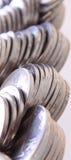 Kinesen myntar Arkivfoton