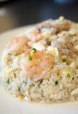 kinesen stekte rice Arkivbild