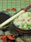 kinesen stekte rice Arkivfoton